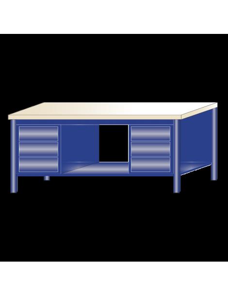 Banco da lavoro piano legno